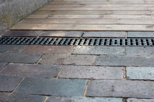 block paving and drainage